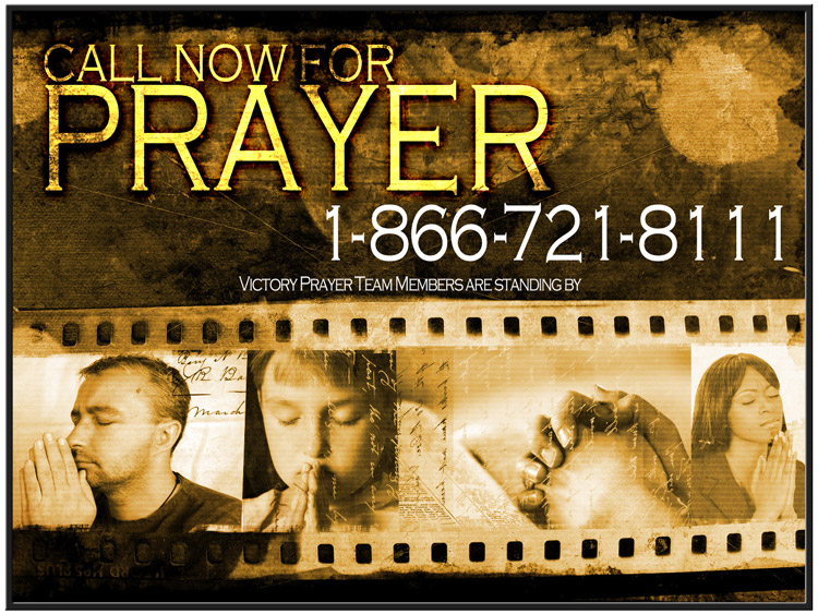 Call for prayer, 1-866-721-8111